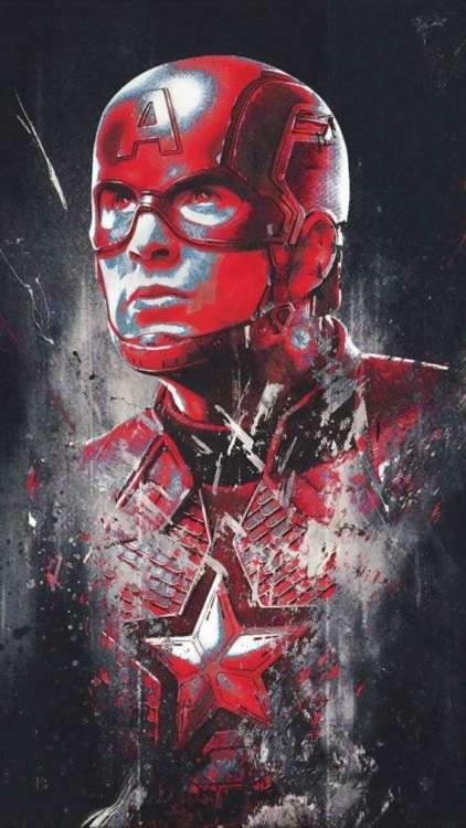 migliori sfondi Marvel per iPhone: Captain America