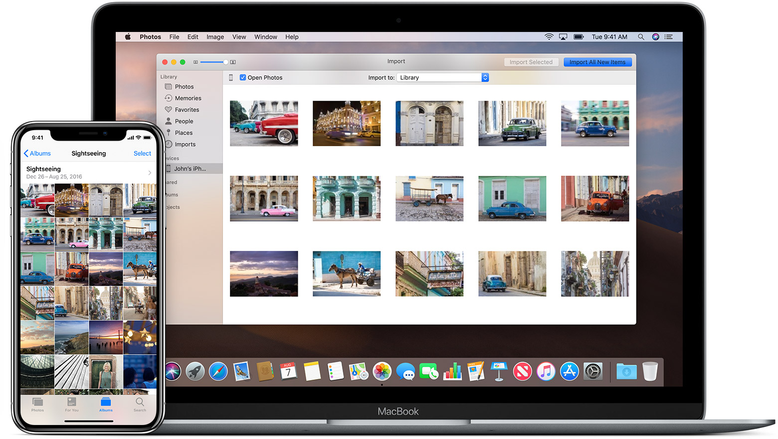 Trasferire foto da IOS a MAC