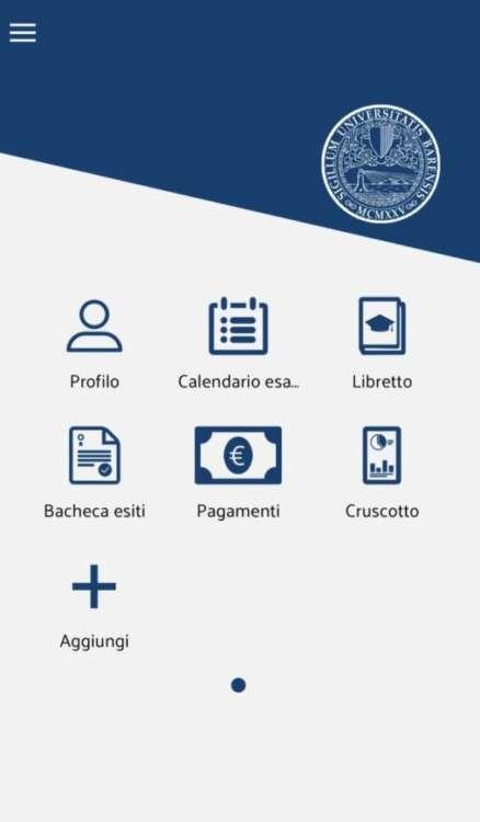 MyUniBa homepage app