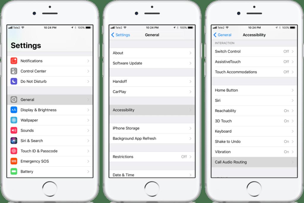 rispondere alle chiamate in automatico in iOS guida