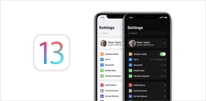 iOS 13 WWDC 19