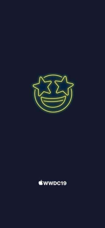 sfondi WWDC 19 emoji