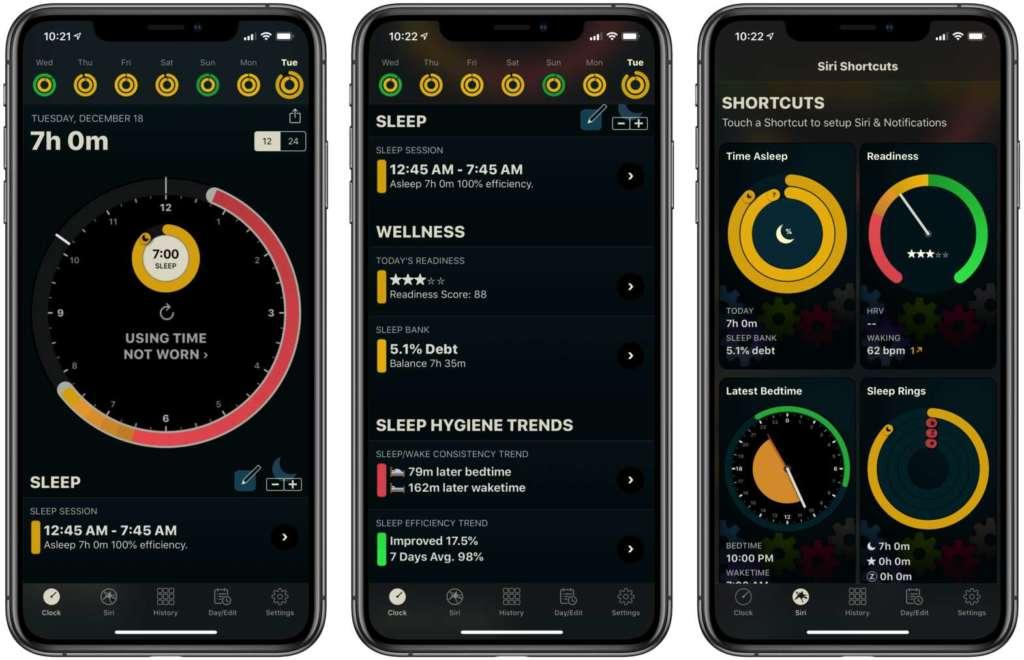 autosleep per Apple Watch e iPhone