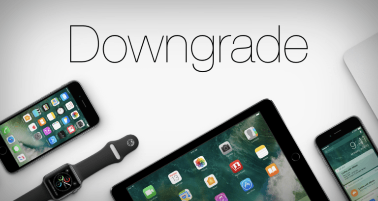 Downgrade iOS