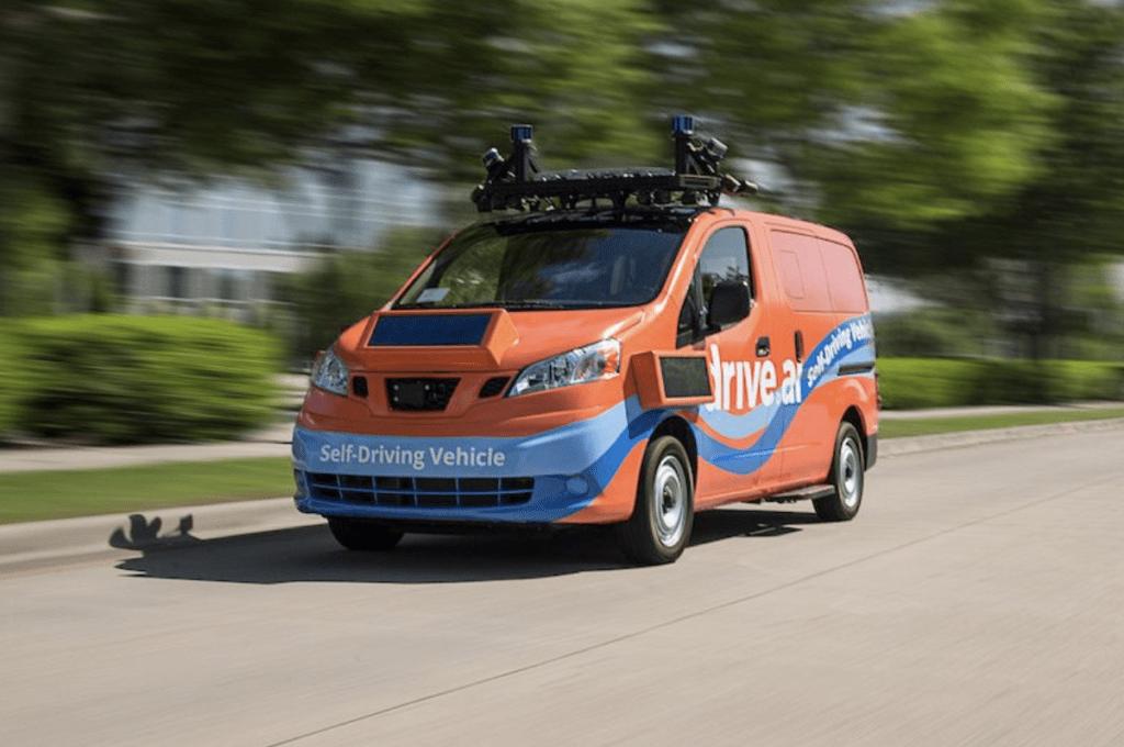 nuova acquisizione : Furgone Drive.ai a guida autonoma