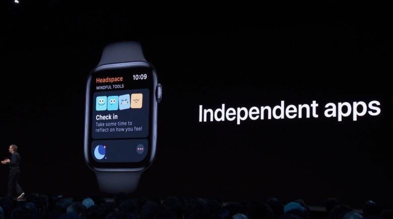 Le novità di WatchOS 6 app indipendenti