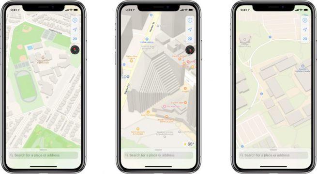 le novità di iOS 13 mappe