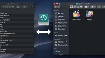 installare applicazioni del mac su HD