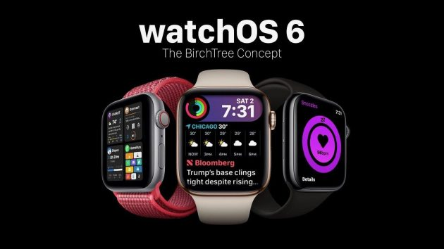 WatchOS 6 Beta 1 preview