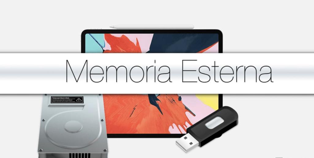 periferiche esterne utilizzabili su iPadOS: dischi rigidi e penne USB