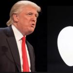 Trump risponde ad Apple