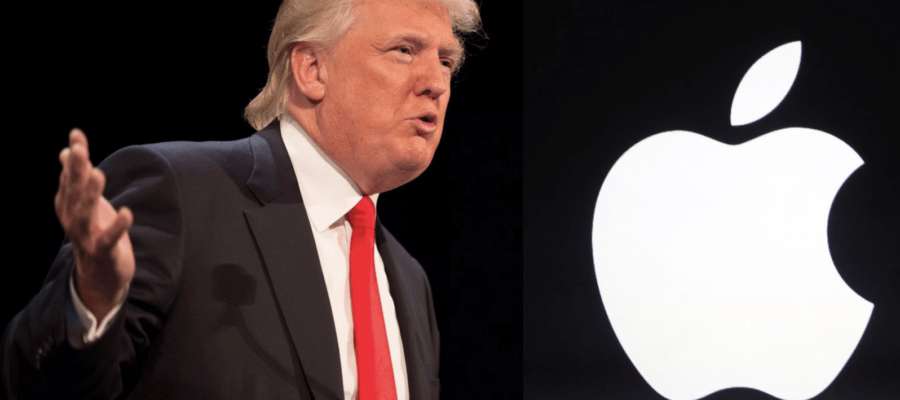 Trump risponde ad Apple