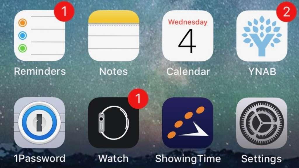 rimuovere le notifiche dalle app su ios