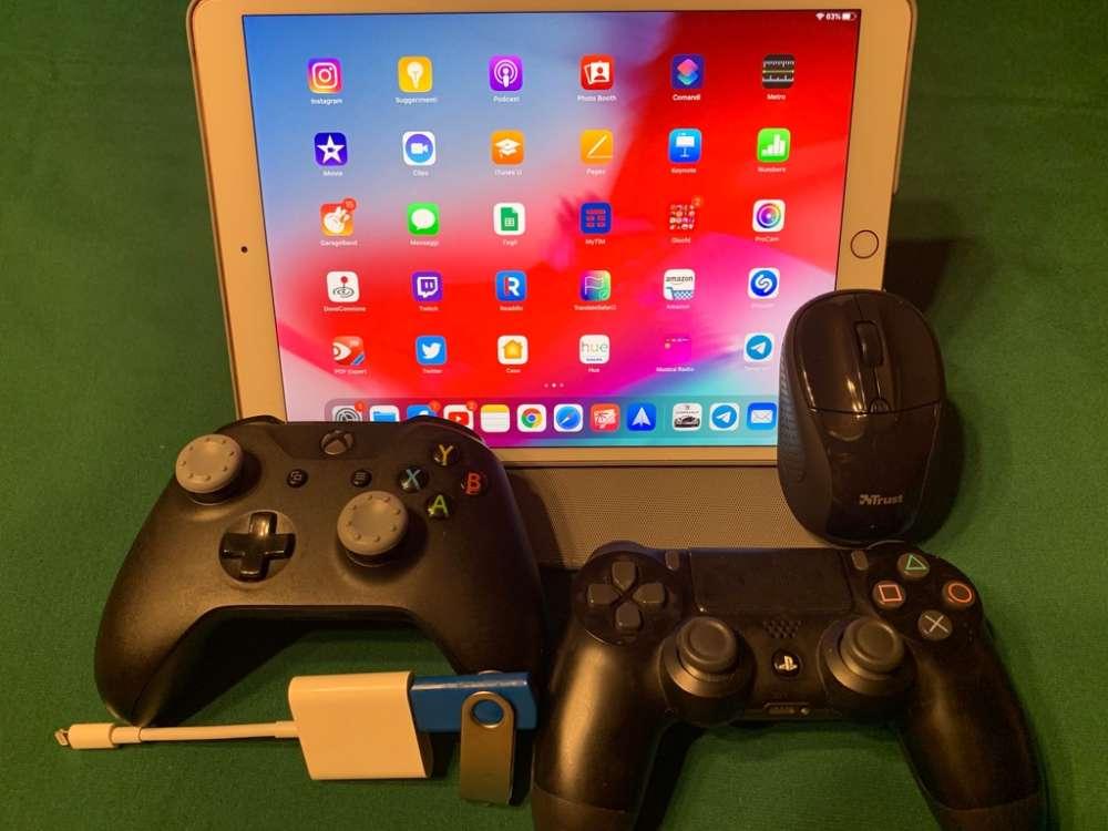 Periferiche in prova su iPad Pro 10.5 pollici con beta pubblica di iPadOs