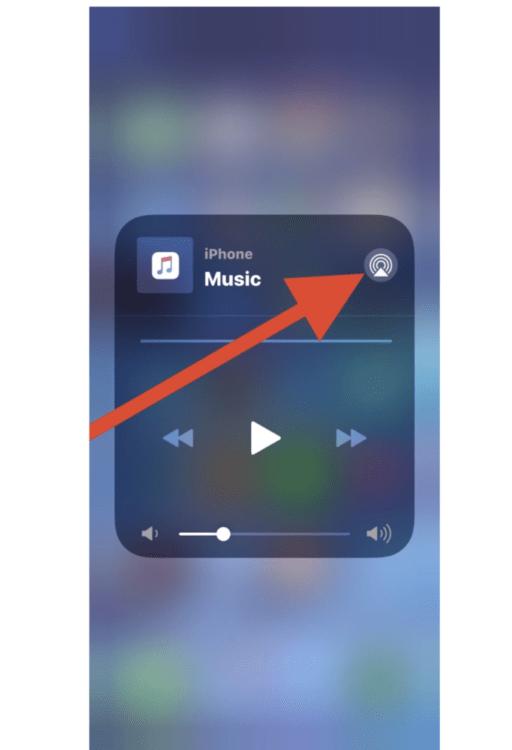 Come accedere ai controlli audio AirPlay in iOS