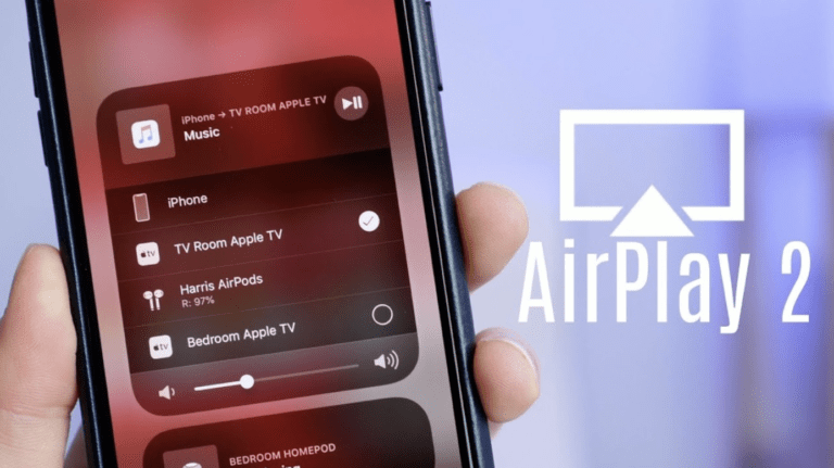 Accedere ai controlli AirPlay