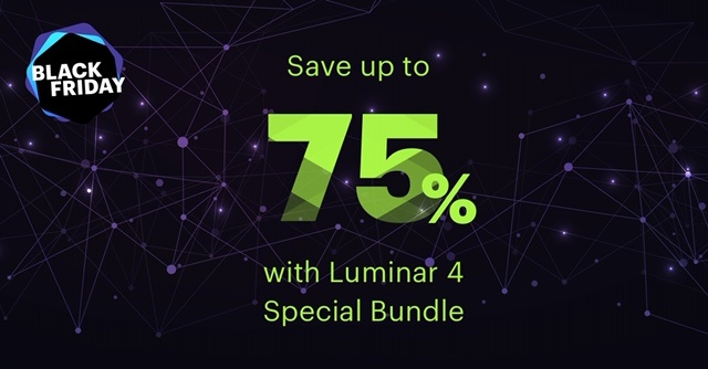 Luminar 4 Black Friday and Cyber Monday