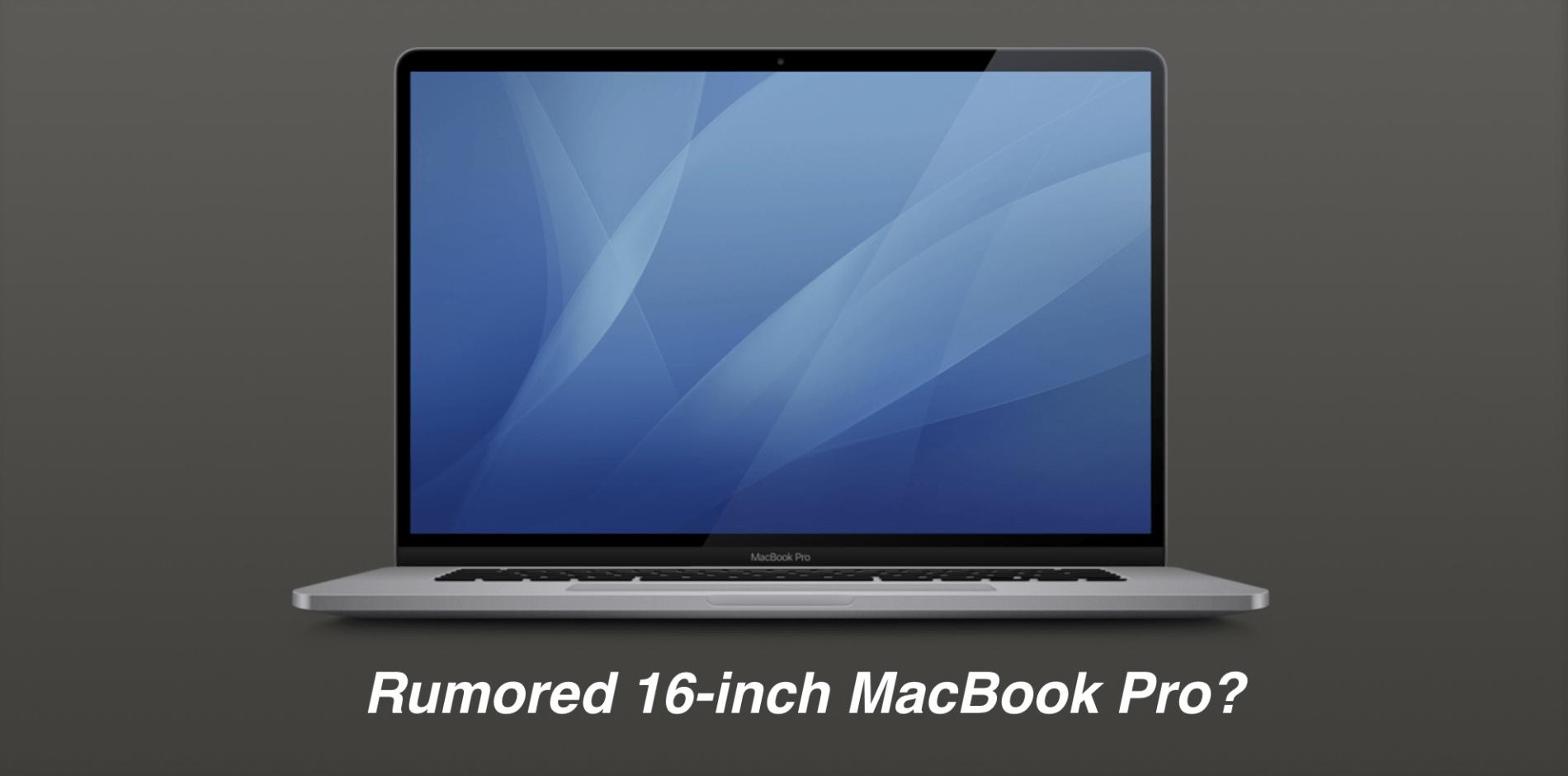 MacBook Pro 16 pollici in arrivo