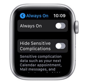 Always On su Apple Watch: disattivarlo