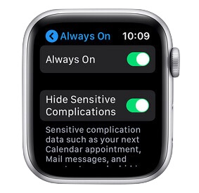 Always On su Apple Watch: attivarlo