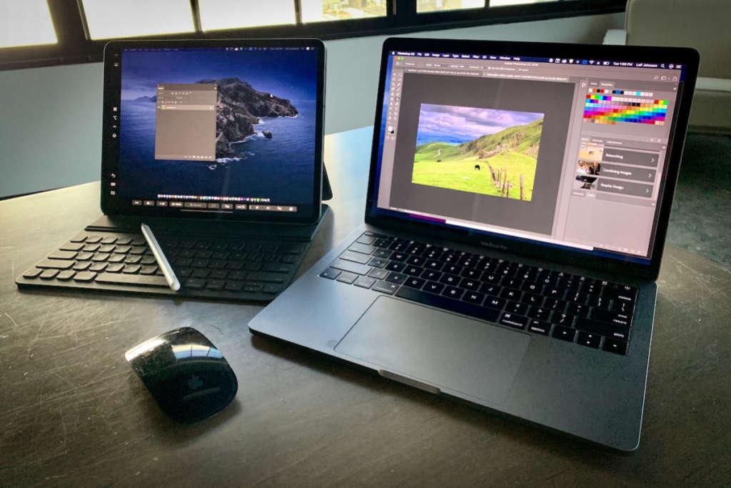 Mac e iPad che supportano Sidecar