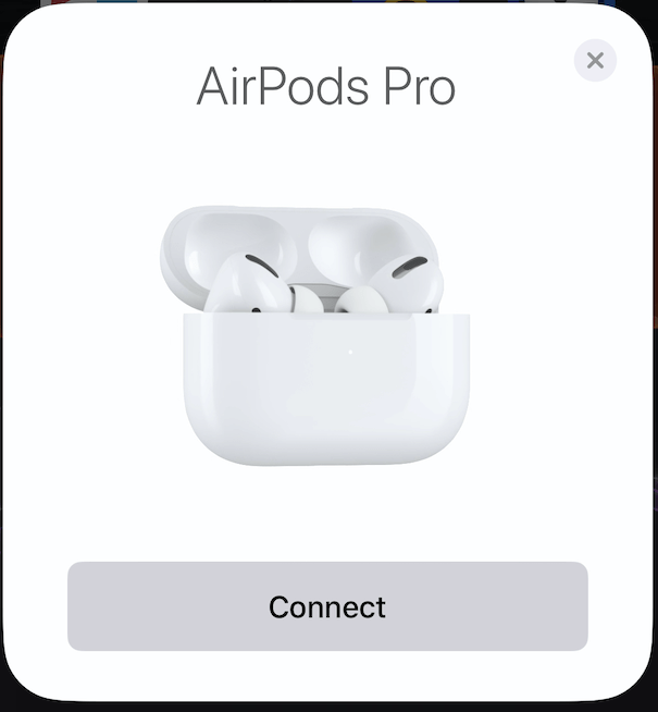 Collegare Airpods Pro all'iPhone o all'iPad