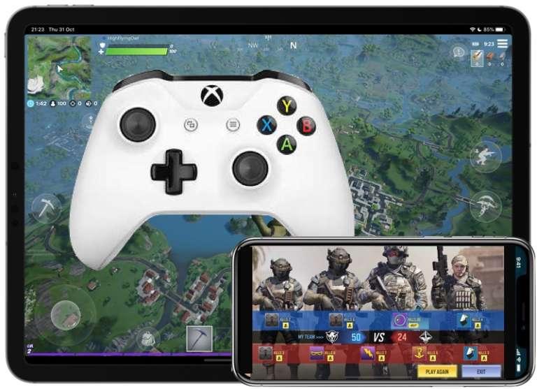Collegare il controller Xbox One ad iOS