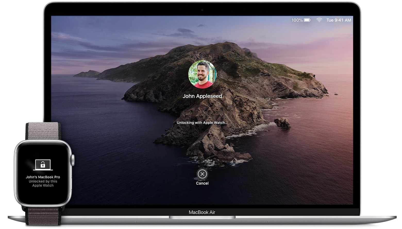 Sbloccare il Mac con Apple Watch