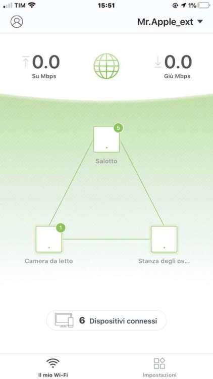 estendere la rete con Nova MW3 app