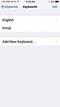 Cambiare lingua tastiera su iPhone ripristina