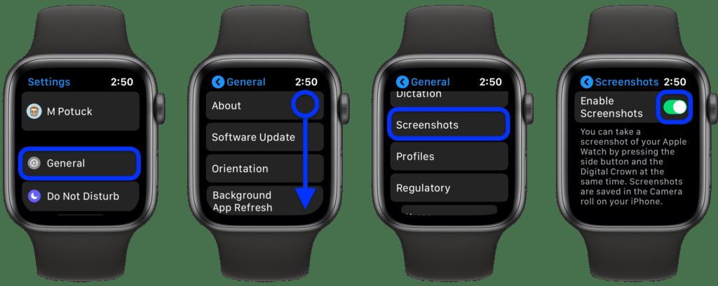 Disabilitare screenshot su Apple Watch: ecco come fare.