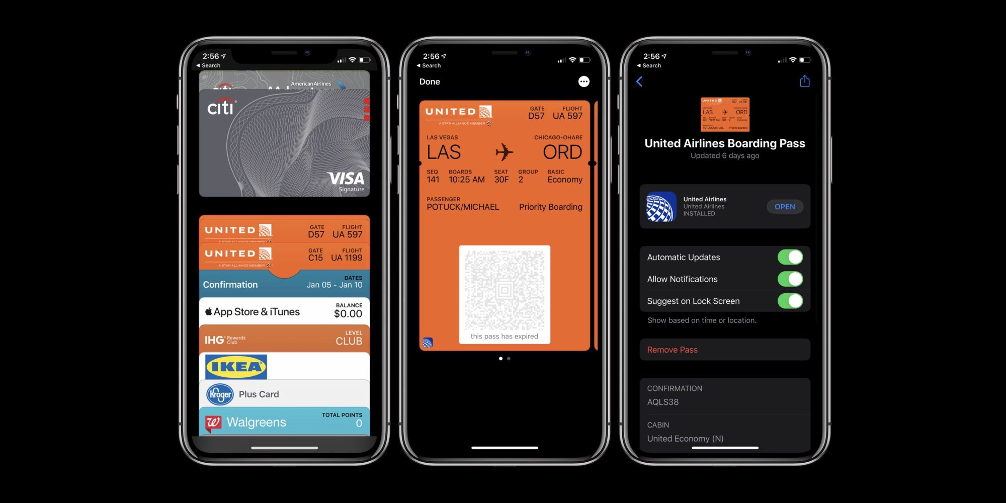 organizzare carte su Apple Pay