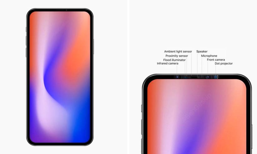 iPhone 5G senza notch nel 2020