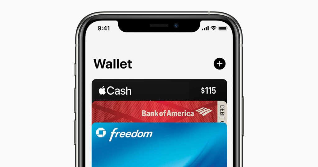 organizzare carte e pass su apple Pay da iPhone.