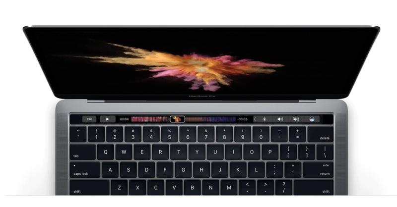 La TouchBar del Macbook non funziona