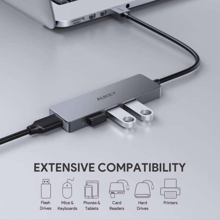 ComplessivoHub USB 3.0 Aukey