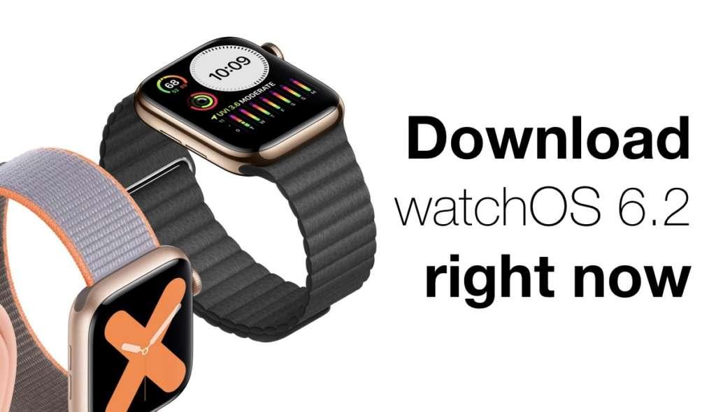 Download di WatchOS 6.2
