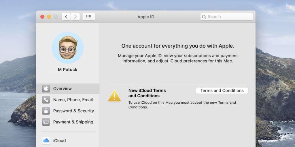 come risolvere il bug di iCloud 1