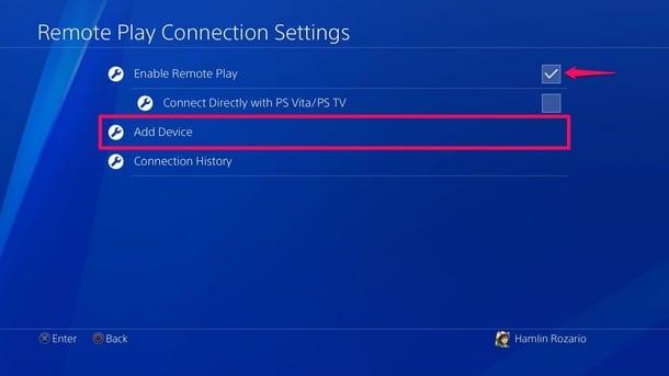 Usare giochi PS4 su iPhone e iPad 4