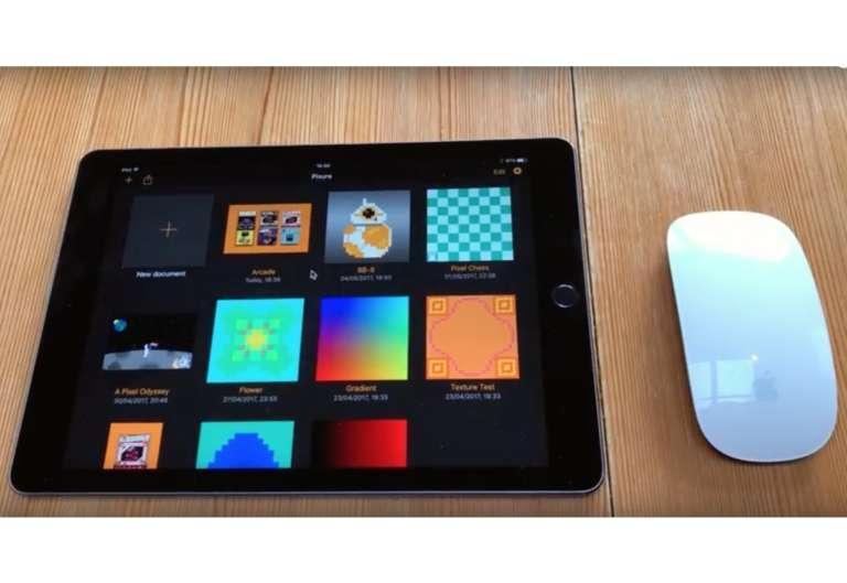 usare mouse con iPad