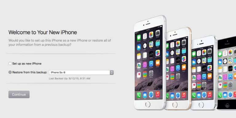 Trasferire dati da iPhone a iPhone