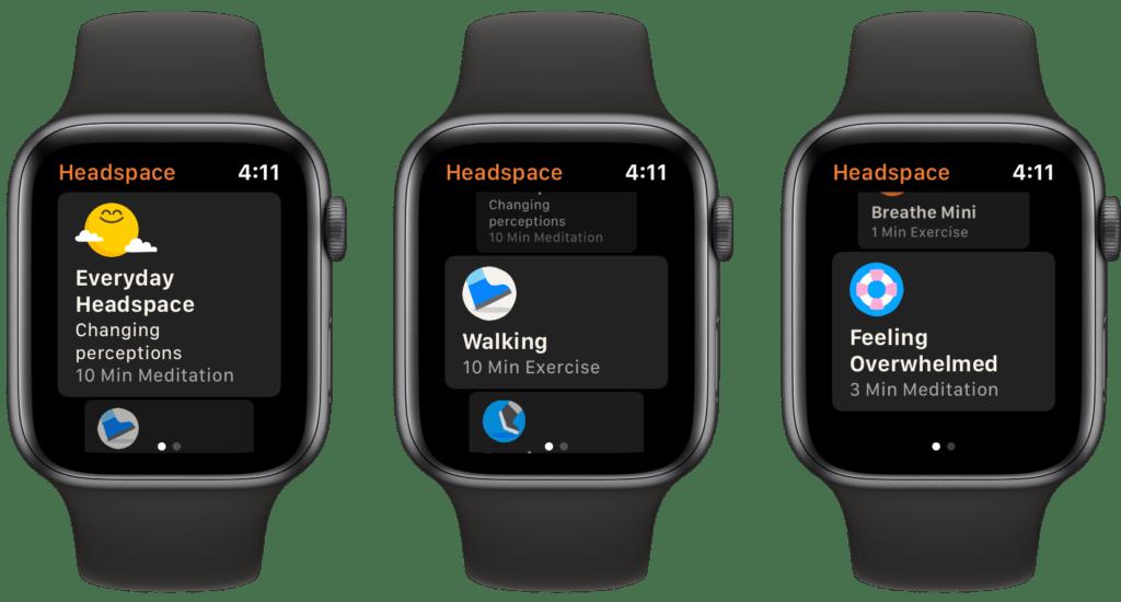 Rilassarsi usando l'Apple Watch 2