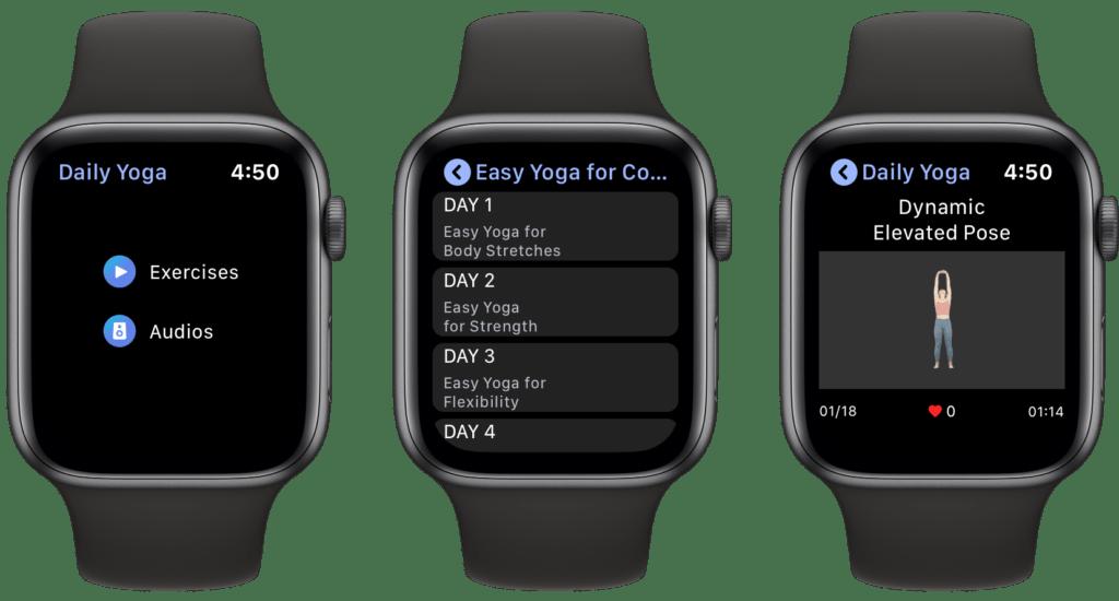 Rilassarsi usando l'Apple Watch 3
