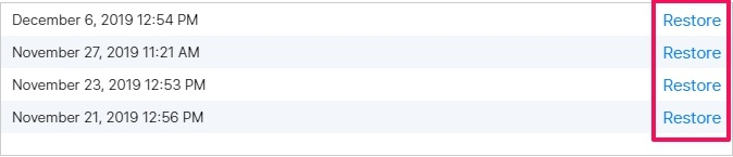 ripristinare calendari persi da iCloud 4