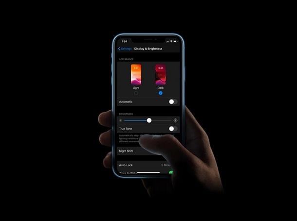 Dark mode da control center su iPhone e iPad: ecco come fare