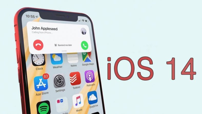 anteprima di iOS 14