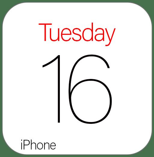 Eventi colorati sul Calendario dell'iPhone