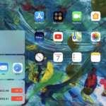 vedere i widgets nella homescreen dell'iPad