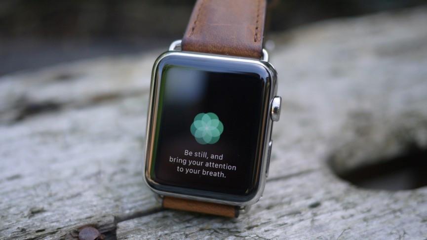 Rilassarsi usando l'Apple Watch