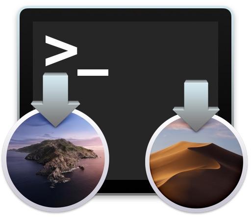 Download installer MacOS da terminale